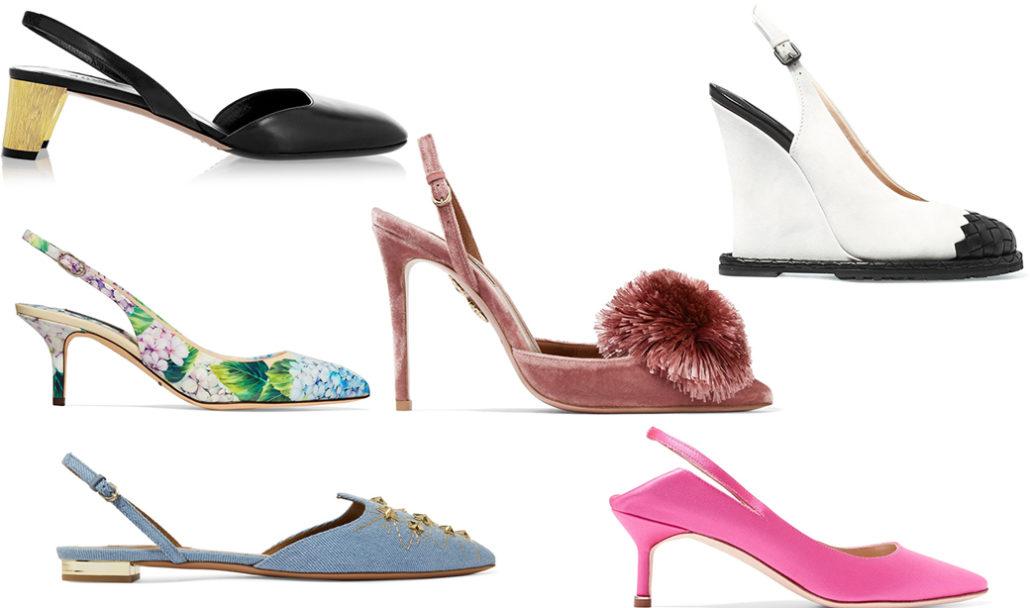 Slingback shoes   Hermosaz