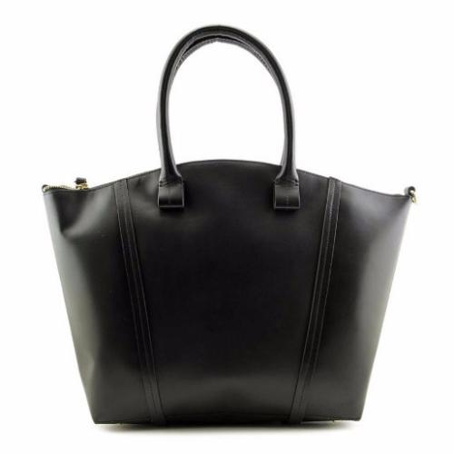 Loehmann's FOLEY CORINNA Tucker Satchel Women Leather Gold Satchel NWT | Hermosaz