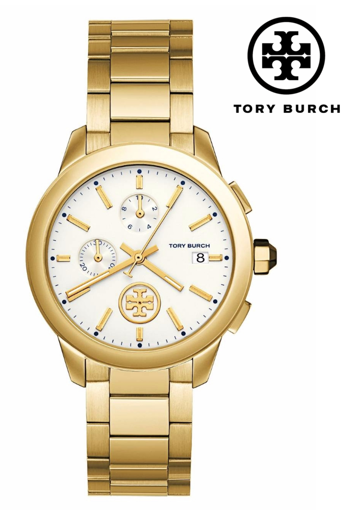 TORY BURCH Collins Chronograph Bracelet Watch, 38mm | Hemrosaz