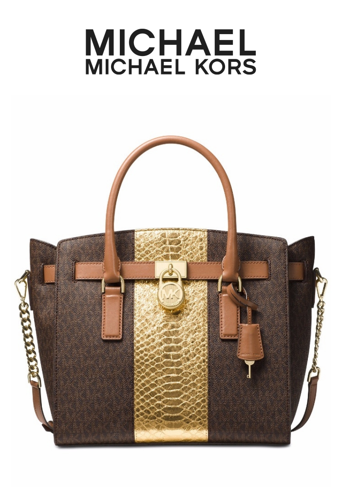 MICHAEL Michael Kors Hamilton Large East West Satchel | Hermosaz