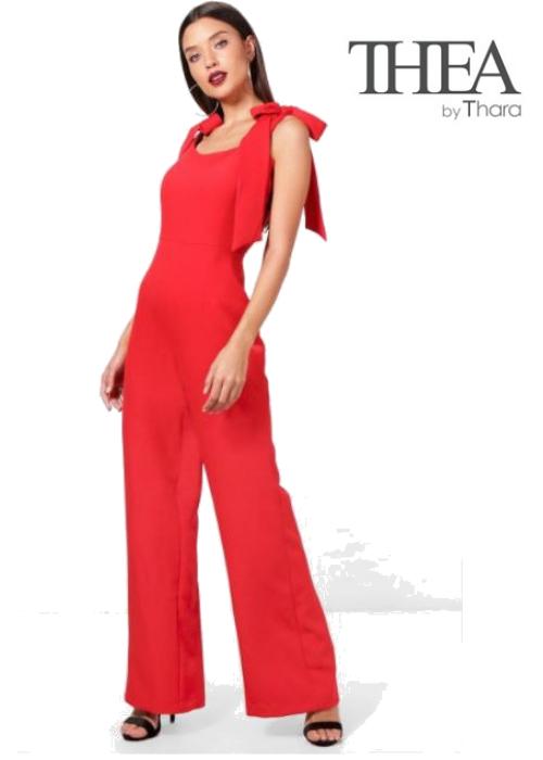 Thea Tie Sleeve Jumpsuit | Hermosaz