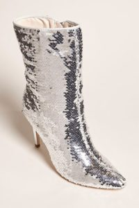 FOREVER 21 Sequin Pointed Boots | Hermosaz