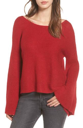 BP. Flare Sleeve Sweater | Hermosaz