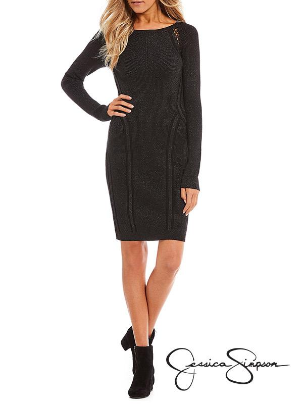 Jessica Simpson Yarrow Sweater Dress | Hermosaz
