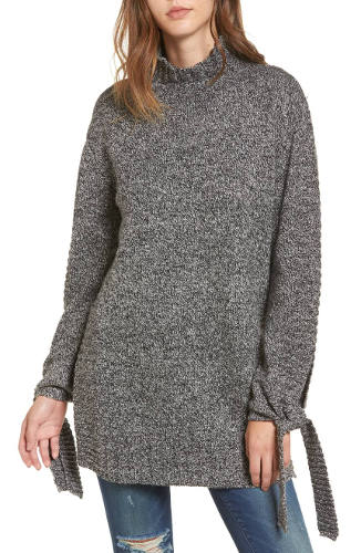 MOON RIVER Side Slit Sweater | Hermosaz