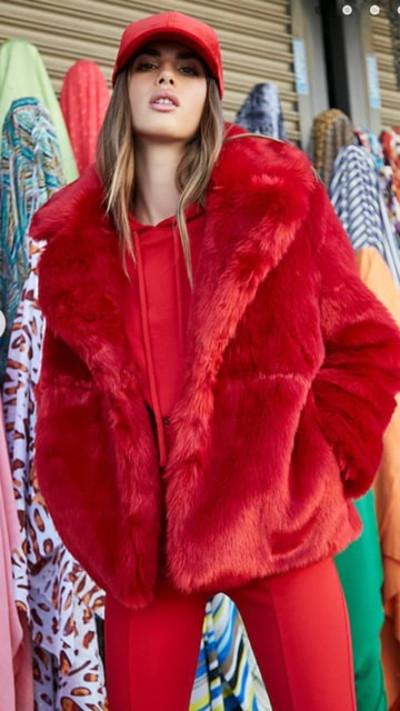 Forever21 Oversized Faux Fur Coat | Hermosaz