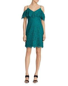 Cold-Shoulder Lace Dress | Hermosaz
