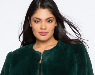 Eloquii Faux Fur Coat | Hermosaz