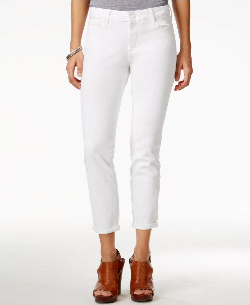 JESSICA SIMPSON Forever Roll Crop Skinny Jeans | Hermosaz