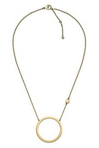 Tommy Hilfiger Gold Crystal Necklace | Hermosaz