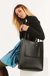 Tall Shopper Tote Bag | Hermosaz