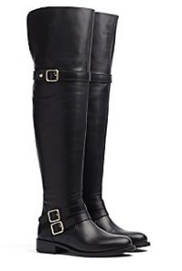 Over-The-Knee Leather Boot | Hermosaz