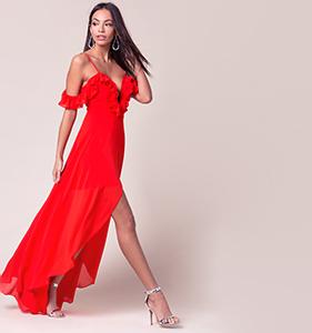 Eyes On Me Maxi Dress | Hermosaz