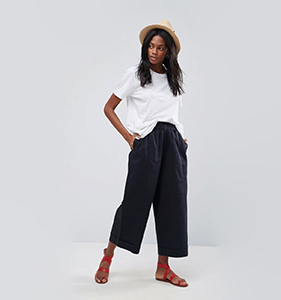 ASOS Balloon Fit Wide Leg Chino Trousers | Hermosaz