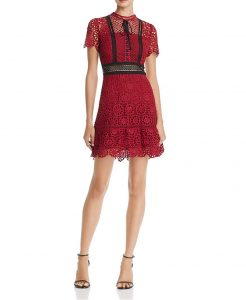 Floral Lace Dress | Hermosaz
