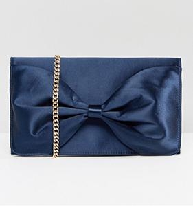 Miss KG Bow Structured Clutch Bag | Hermosaz