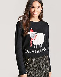 Balalalala Holiday PJ Sweater | Hermosaz