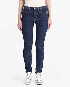 High Rise Dark Skinny Jeans | Hermosaz