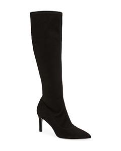 Carrara Knee High Pointy Toe Boot | Hermosaz