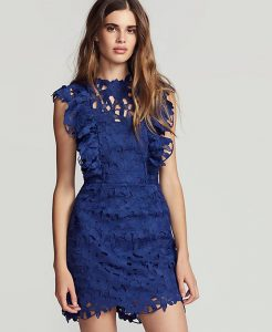 Belle Lace Shift Dress | Hermosaz