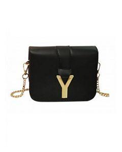 URSULA Y-Letter Shoulder Bag | Hermosaz
