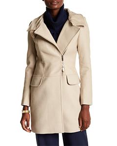 KAREN MILLEN Woven Coat | Hermosaz