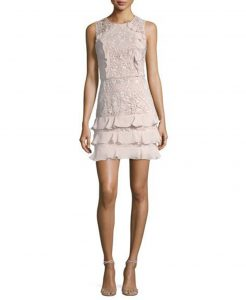 Parker Zahara Combo Sleeveless Lace Cocktail Dress | Hermosaz