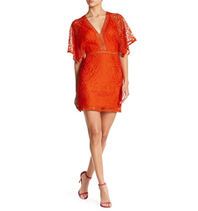 Know One Cares Kimono Sleeve Lace Dress | Hermosaz