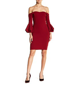 Symphony Cold Shoulder Mini Dress | Hermosaz