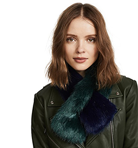 Charlotte Simone Polly Pop Faux Fur Scarf | Hermosaz