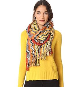 Missoni Wool Zigzag Scarf | Hermosaz