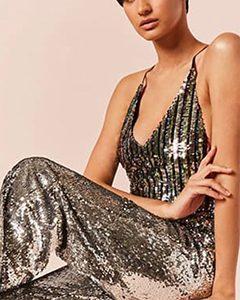 Sequin Cami Bodysuit | Hermosaz