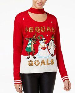 Squad Goal Choker Sweater | Hermosaz