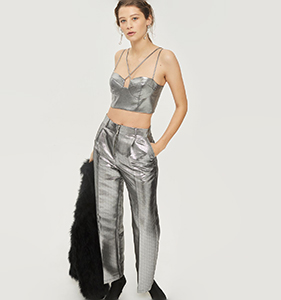 Strappy Cropped Bralet | Hermosaz