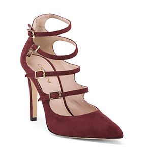 Cavallini Made in Italy Suede Strappy Pumps | Hermosaz