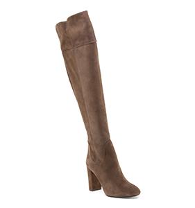 Grigiarancio Made In Italy Suede High Heel Boots | Hermosaz