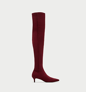 OVER-THE-KNEE HIGH HEEL BOOTS | Hermosaz