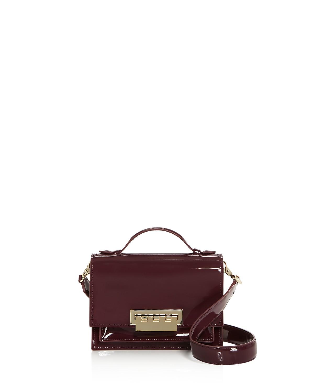 Earthette Accordion Patent Leather Shoulder Bag   Hermosaz