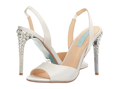 Blue by Betsey Johnson Naomi Bridal Shoes | Hermosaz