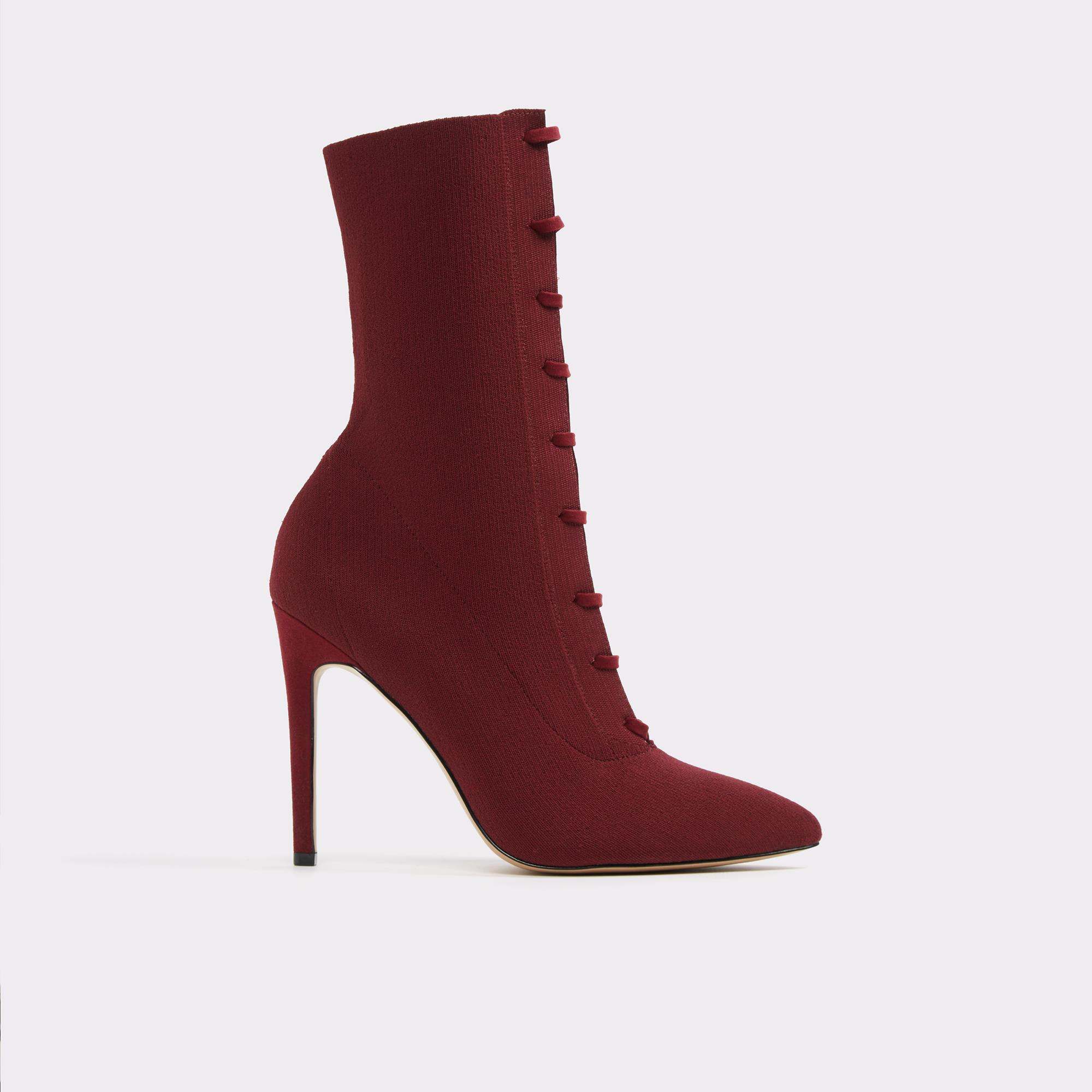 Miassa Bordeaux Dress Boots | Hermosaz