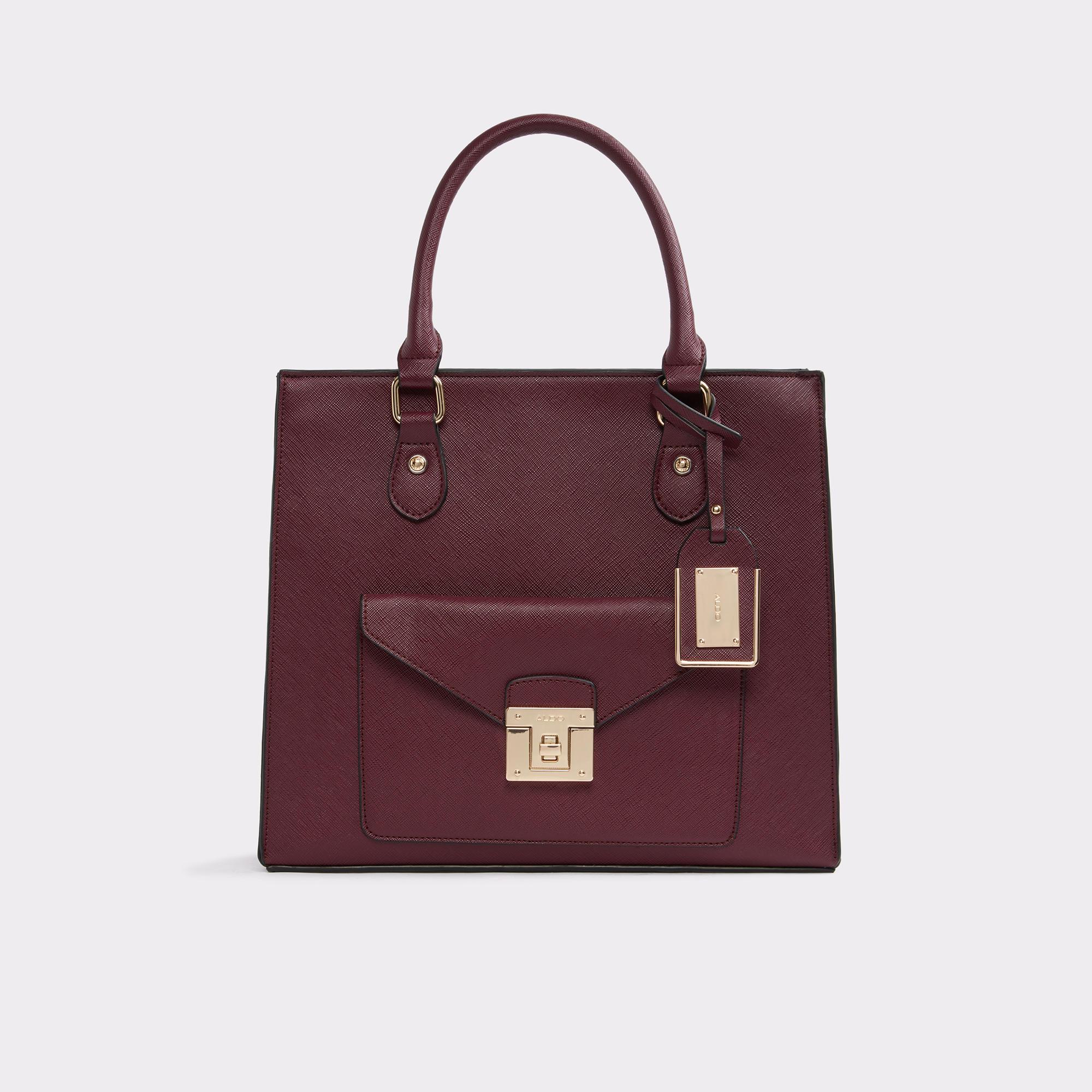 Castana Bordeaux Handbags | Hermosaz
