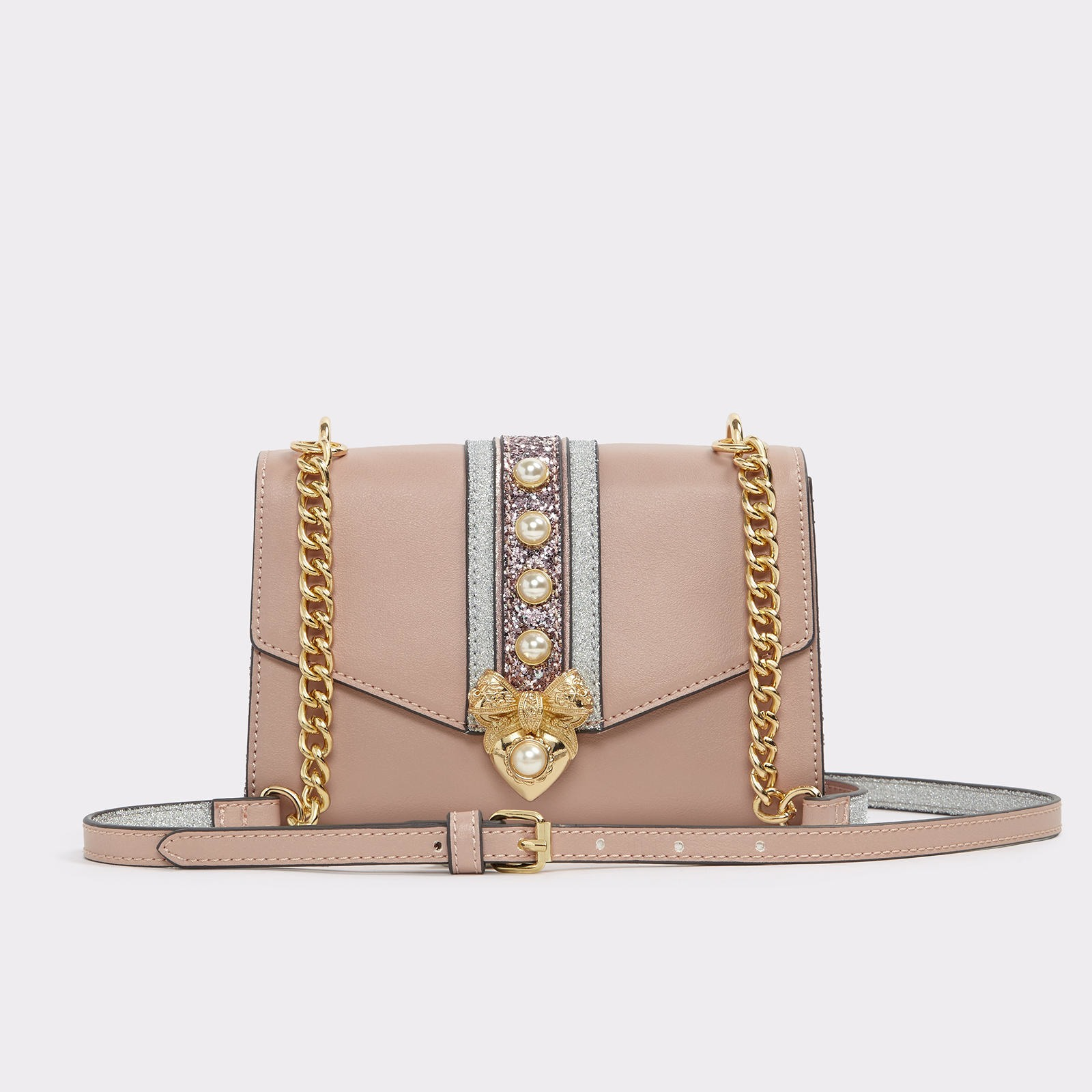 Lebovits light Pink Crossbody Bag | Hermosaz
