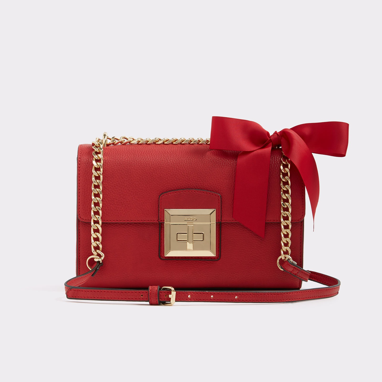 Maenia Red Crossbody Bag | Hermosaz