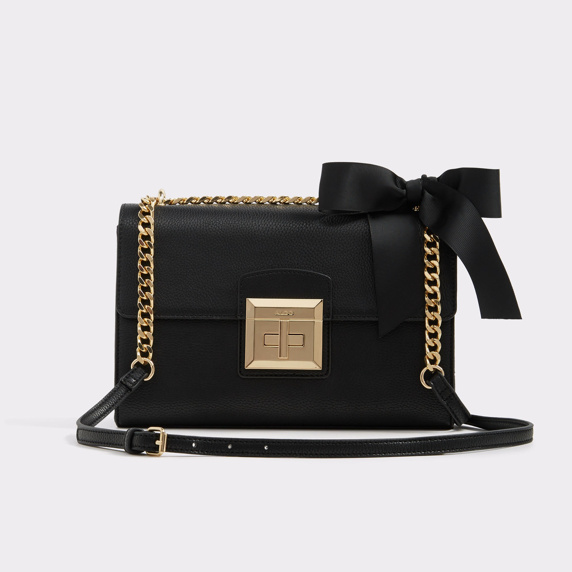 Maenia Midnight Black Women's Crossbody | Hermosaz