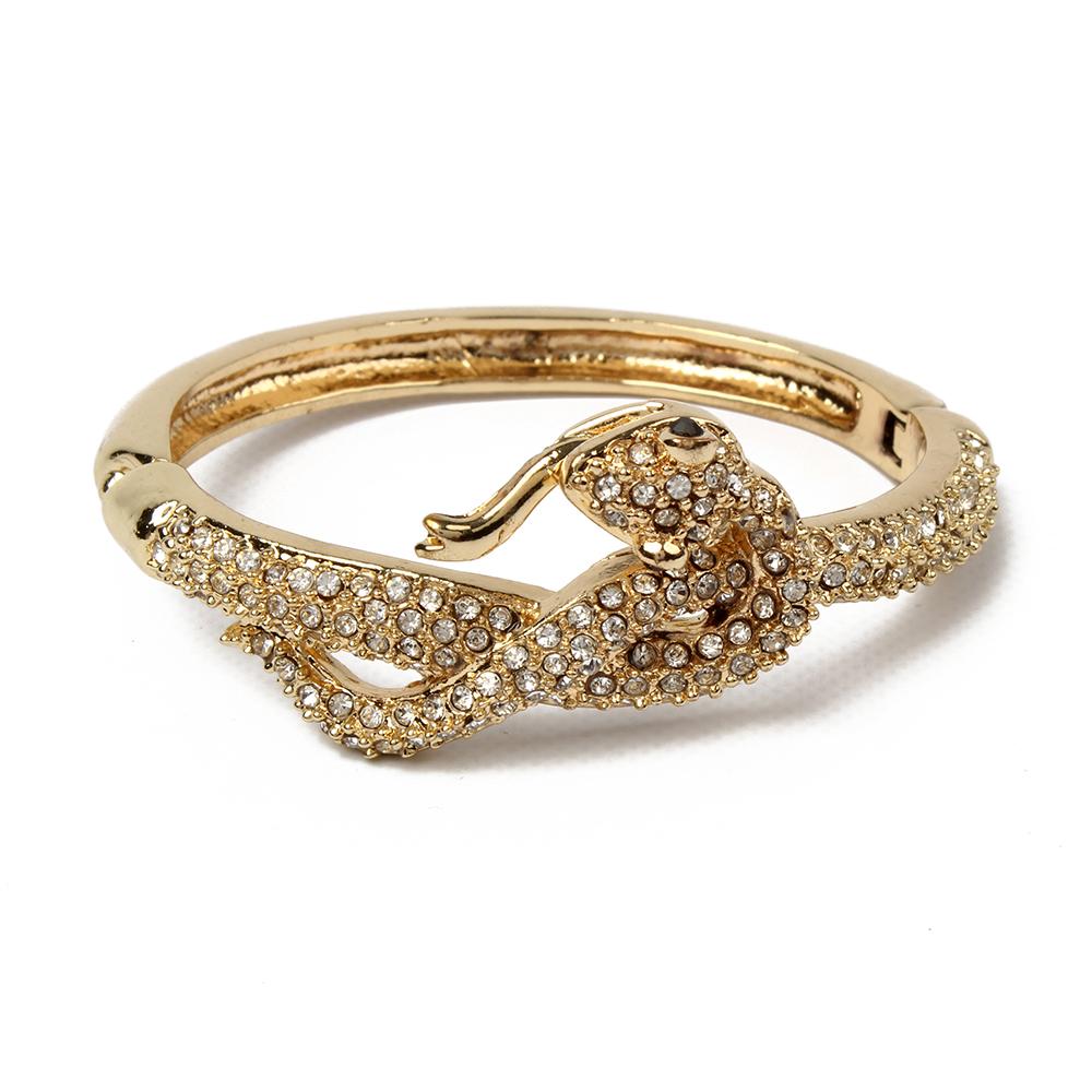 Crystal Snake Cuff | Hermosaz