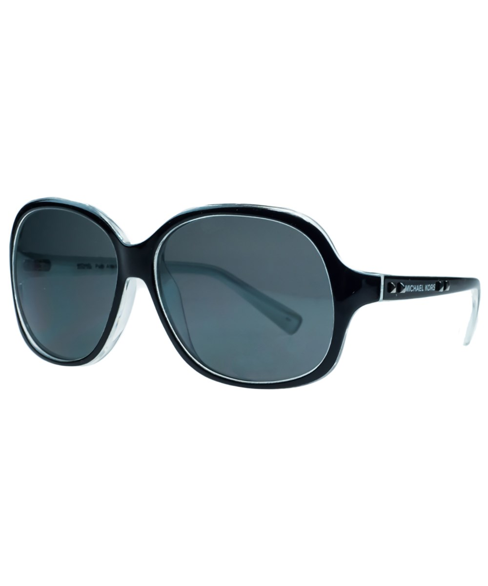 MICHAEL KORS M2743/S Palo Alto 017 Black Square Sunglasses | Hermosaz