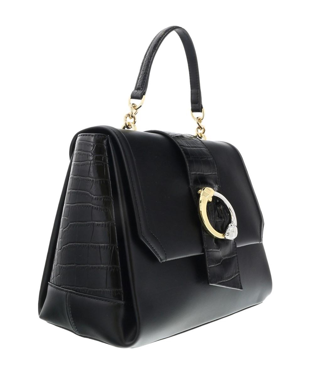 ROBERTO CAVALLI Dea 003 Black Small Handbag | Hermosaz