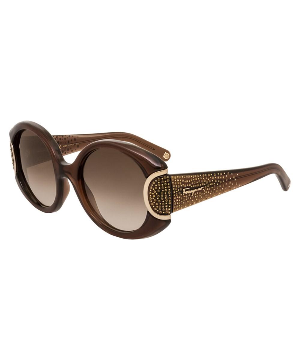 Salvatore Ferragamo Women's Sf811sr Ltd Signature 54mm Sunglasses   Hermosaz