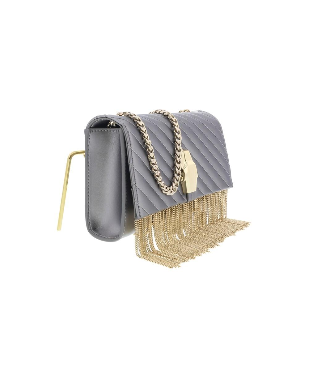 ROBERTO CAVALLI Rsvp Gala 001 Gun Metal Small Shoulder Bag | Hermosaz