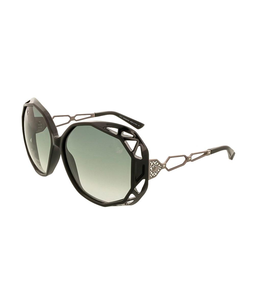 SWAROVSKI Sk0022/S 01b Black Oversized Sunglasses | Hermosaz